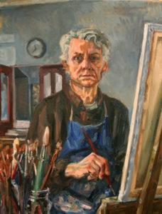 Jonathan Frost, self portrait
